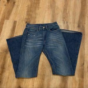 "Diesel Boot Leg Jeans Size 26 Inseam 32"""